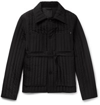 Craig Green Quilted Shell Jacket Black