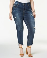 Melissa Mccarthy Seven7 Trendy Plus Size Ripped Skinny Jeans Howland