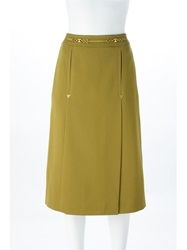 Celine Vintage Yoke Skirt Green