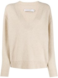 Iro Ribbed V Neck Sweater 60