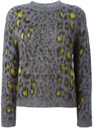 Erika Cavallini Semi Couture 'Averill' Sweater Grey