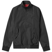 Fred Perry Reissues Made In England Harrington Jacket Black