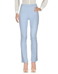 1 One Trousers Casual Trousers Sky Blue