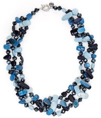 Cc Blue Shell Necklace