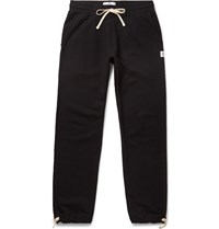 Reigning Champ Loopback Cotton Jersey Sweatpants Black