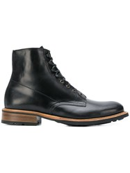 Paraboot Lace Up Boots Black