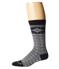 Pendleton Fair Isle Crew Navy Crew Cut Socks Shoes