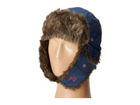 The North Face Heli Hoser Hat Shady Blue Double Vision Print Caps