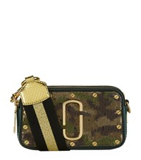 Marc Jacobs Sequin Camouflage Snapshot Camera Bag Female Green