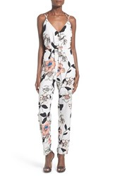 Women's Leith Strappy Floral Print Jumpsuit