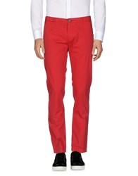 Iceberg Casual Pants Red