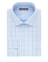 Geoffrey Beene Straight Fit Cotton Blend Dress Shirt Opal