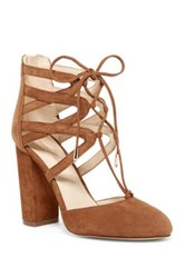 Marc Fisher Shellie Lace Pump Brown