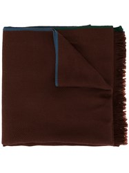 Loro Piana Four In Hand Cashmere Scarf Brown