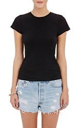 Re Done Women's 1960 Slim Fit T Shirt Black