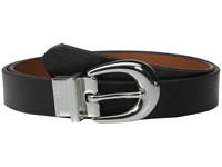 Lauren Ralph Lauren 1 Saffiano To Smooth Reversible Belt Black Lauren Tan Women's Belts