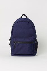 Handm Backpack With Laptop Sleeve Blue
