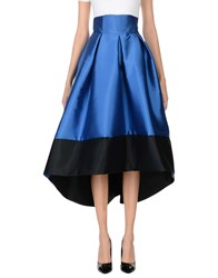 Io Couture Long Skirts Blue