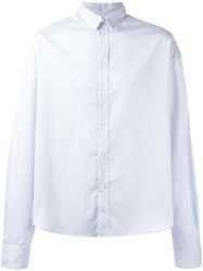 Y Project Striped Shirt White