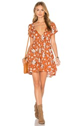 Spell And The Gypsy Collective Dancer Dress Orange