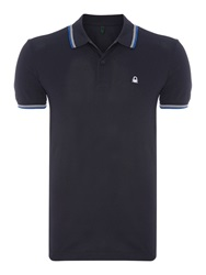United Colors Of Benetton Regular Fit Polo Shirt Navy