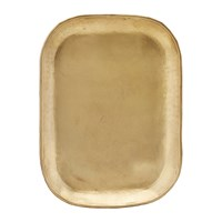 House Doctor Rich Brass Tray Gold