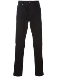 Givenchy Cuban Fit Star Patch Jeans Black