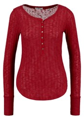 Abercrombie And Fitch Cozy Jumper Red