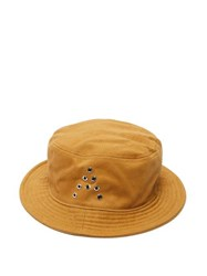 Acne Studios Buk A Cotton Twill Bucket Hat Brown