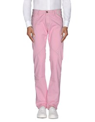 Camouflage Ar And J. Casual Pants Pink