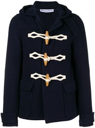 J.W.Anderson Jw Anderson Hooded Short Duffle Coat 888 Navy