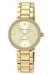 Anne Klein Women's Mirror Bezel Bracelet Watch 32Mm