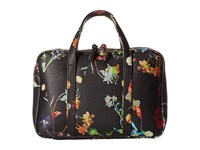 Elliott Lucca Travel Case Black Spring Botanica Handbags