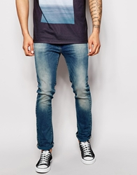 United Colors Of Benetton Jeans In Slim Fit Midblue630