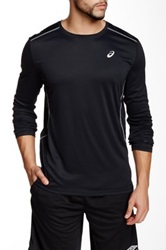 Asics Lite Show Long Sleeve Tee Black