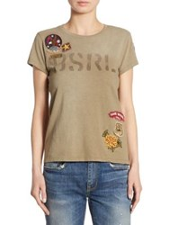 Polo Ralph Lauren Graphic Patch Tee Olive