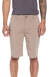 Hudson Jeans Clint Chino Shorts Taupe