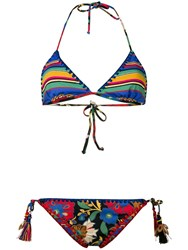 Anjuna Mixed Bikini Set Blue