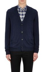 Marc By Marc Jacobs Colorblocked Cardigan Blue