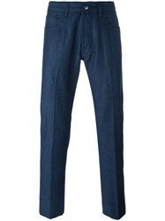 Jacob Cohen Tapered Trousers Blue
