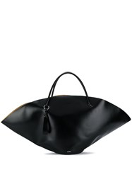 Jil Sander Structured Tote Bag Black