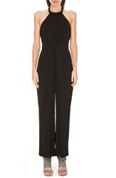 Women's Keepsake The Label 'Let It Go' Halter Jumpsuit Black