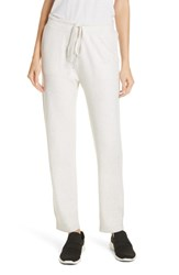 Vince Slouch Jogger Pants Heather White