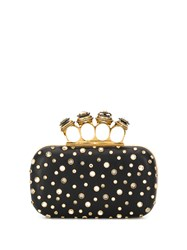 Alexander Mcqueen Embellished Four Ring Box Clutch 60