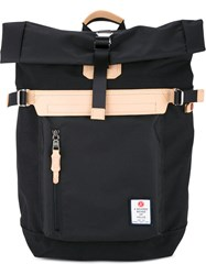 As2ov Folded Top Buckle Backpack Men Nylon One Size Black