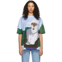 Etudes Studio Blue Henri Taylor Edition Colorado T Shirt
