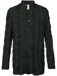 Uma Wang Button Up Fitted Jacket Black