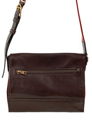 Bally Tamrac Leather Messenger Bag