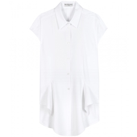 Balenciaga Cotton Shirt Blanc