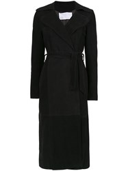 Spacenk Nk Trench Coat Black
